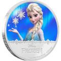 ELSA - Disney Frozen Series- 2016 Niue 1 oz Silver Coin