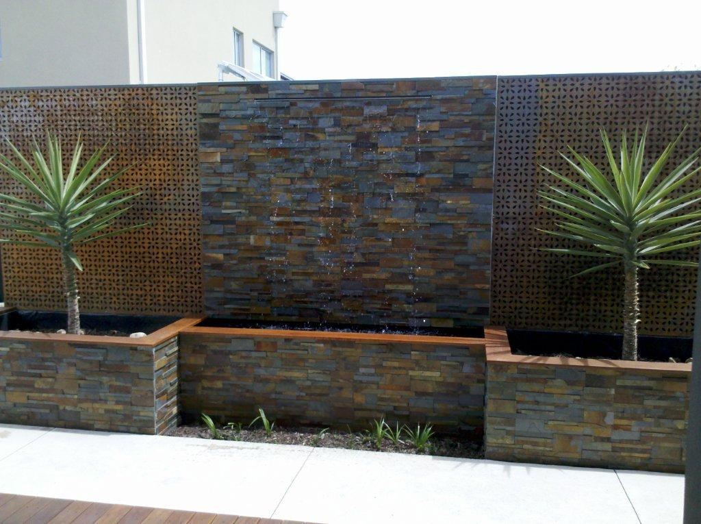 900mm wide cascade water wall water feature effect complete kit - How to build an outdoor fountain with rocks ...