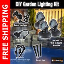 iearth LED garden pond light kits