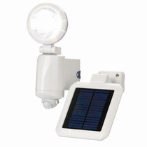 Solar Powered 3W LED Sensor Light