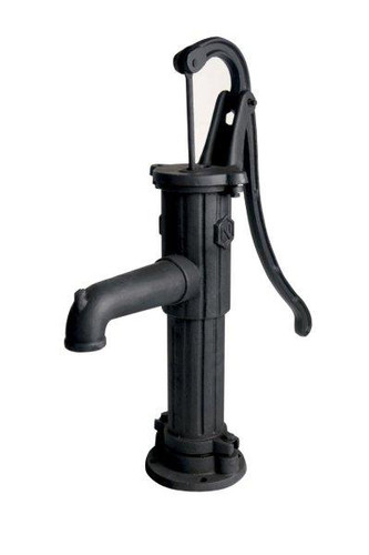 Add charm to your water garden with this authentic cast iron, fully functional hand water pump.