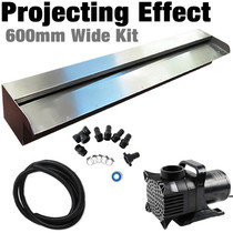 DIY Projecting Effect Water Wall Kit, 600mm Wide