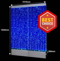 Double Bubble Effect Waterwall panel - Freestanding