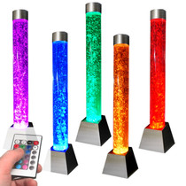 Column Bubble Waterwall Feature with Interchanagble LED light