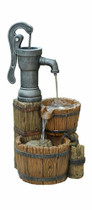 Barrel Tap Water Fountain