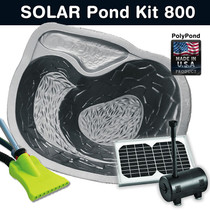 Our DIY Solar Pond Kit 800 is ideal for creating your own pond feature in areas where power reticulation is not possible or simply because you want to go green!