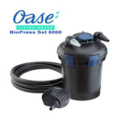 Oase Biopress 6000 UV Filter & Pump Set