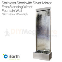 Mirror Glass Water Feature