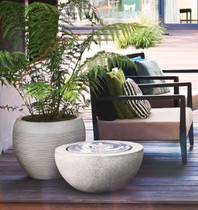 Terrace Waterfeature Grey