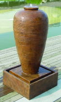 Urn Rippled Waterfeature