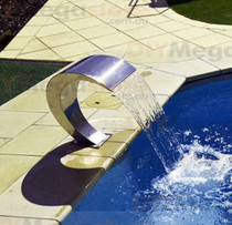 Swimming Pool waterfall feature Pacific500