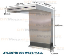 Atlantic300 - Water Fall Feature