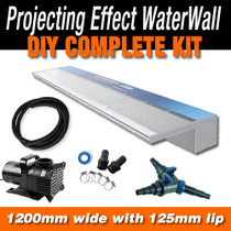 ACRYLIC1200P125 - Waterfall Projecting Effect - 1200mm x 125mm Lip Blade Kit