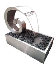 Arctic z6 stainless steel water feature