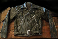 Sold! Vintage Leather Schott 118 Biker jacket size 38