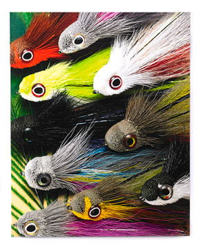 Big Eye Flies Canvas
