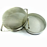 Stainless Double Honey Sieve Filter [833]