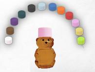 NEW 2 oz. Bear Rainbow Cap Sampler