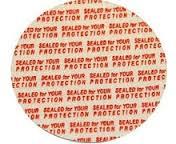 Pressure Sensitive Seals for Plastic Caps (38mm) (200 count)