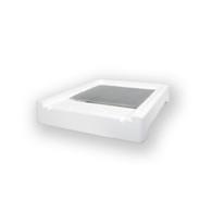 10 Frame Polystyrene Bottom w/Varoa Plate & Tray [10PB-VP]
