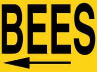 BEES Sign w/Stand