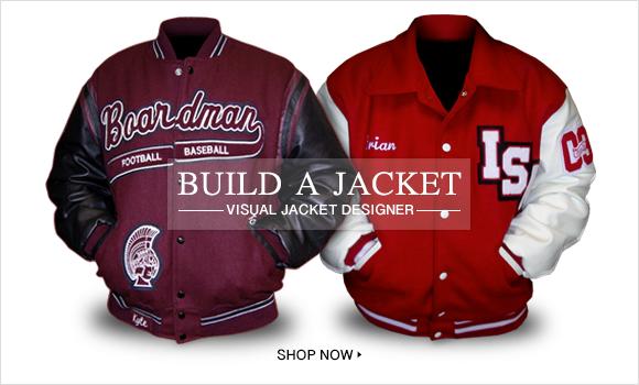 Build a Jacket Varsity Letterman Jacket Hero