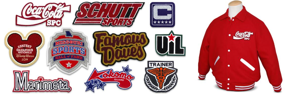 corporate and custom designed patches