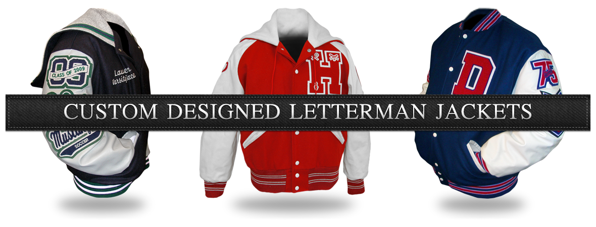 Custom Designed Letterman Jackets by Mount Olympus Awards