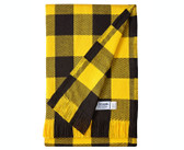 Cotton Stadium Blanket - Black and Gold