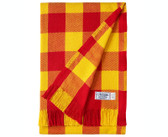 Cotton Stadium Blanket - Red and Gold
