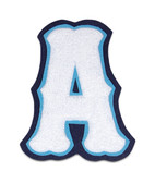 Double Felt Fancy Block Chenille Varsity Letter A