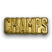 Champs Varsity Letter Pins