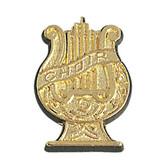 Choir Lyre Varsity Letter Pins