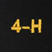 4-H Embroidered Swiss Insert