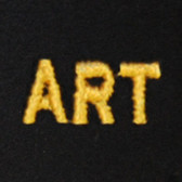 Art Embroidered Swiss Insert