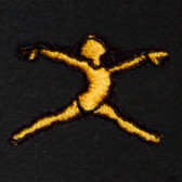 Dancer Embroidered Swiss Insert