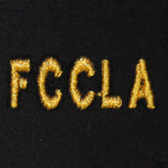 FCCLA Embroidered Swiss Insert