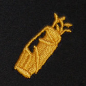 Golf Bag Embroidered Swiss Insert