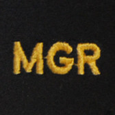 Manager Embroidered Swiss Insert