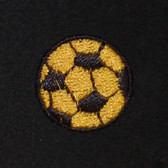 Soccer Embroidered Swiss Insert