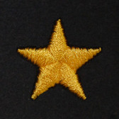 Star Embroidered Swiss Insert