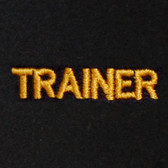 Trainer Embroidered Swiss Insert