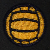 Volleyball Embroidered Swiss Insert