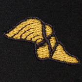 Winged Foot Embroidered Swiss Insert