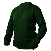 Forest Green Letterman Sweater