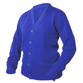 Royal Blue Letterman Sweater