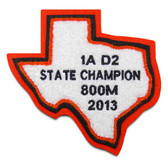 Texas State Chenille Patch