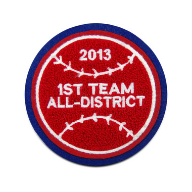 Baseball Sports Patch