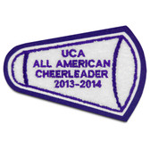 Megaphone Cheerleading Patch