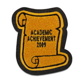 Scroll Academic Patch